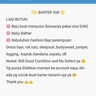 Barter Yuk Mom