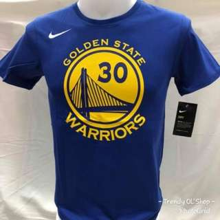 NiKE DRi-FiT T-SHiRT CHECK GOLDEN STATE WARRiORS 30