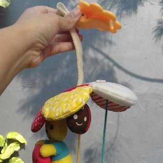 soft toy mainan anak gantungan stroller dan cribs