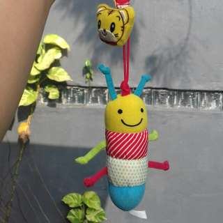 soft toy mainan anak ulat caterpiilar