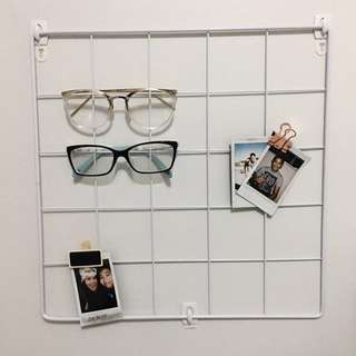 Wall Grid Panel - White