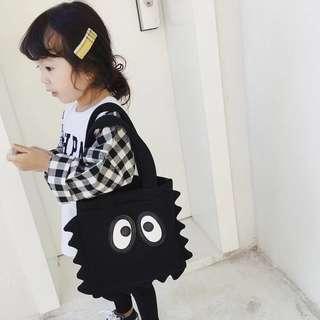 Mom & Daughter Matching Big Eye Monster Jagged Mesh Bag