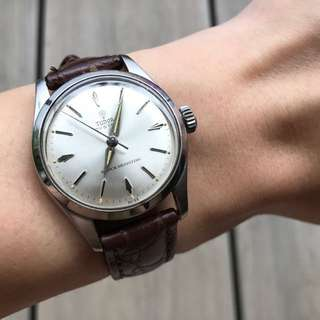 Reduced*Tudor Oyster Rose mechanical watch