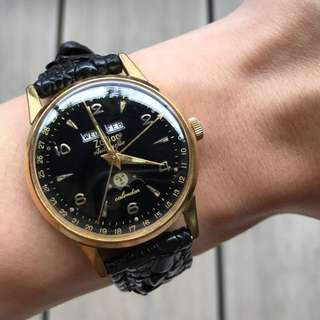 Reduced* Zodiac triple date moonphase automatic watch