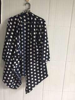 Outerwear polkadot