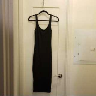 Black nylon dress XS - Urban planet