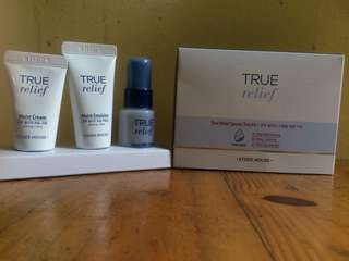 REPRICED! Etude House True Relief Kit