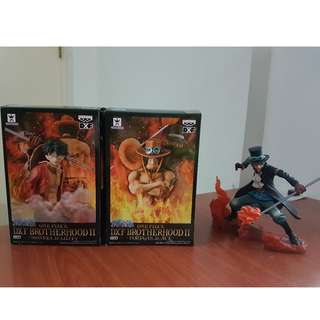 One Piece DXF Brotherhood II set of 3