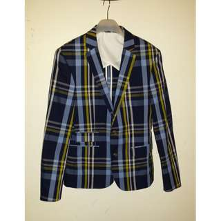 Plaid Sports Jacket