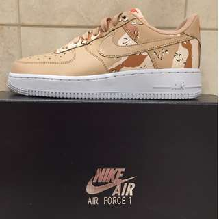 NIKE AIR FORCE 1 LV8 DESERT CAMO BIO BEIGE