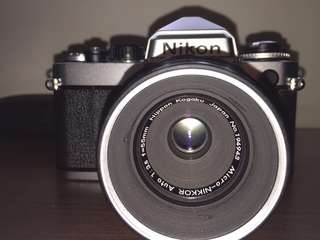 Rare vintage Nikkor micro 55mm f3.5 (camera not included)
