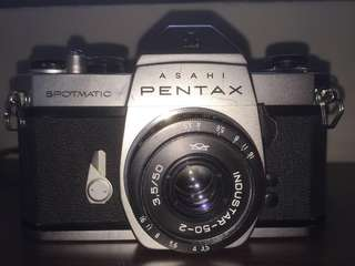 Vintage Asahi Pentax Spotmatic SLR (lens not included)