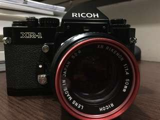 Vintage Ricoh XR1 film SLR (lens not included)