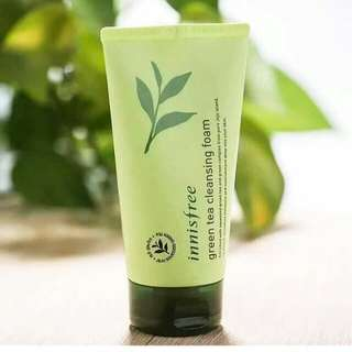 Authentic Innisfree Green Tea Cleansing Foam Wash 30ml
