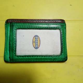 Fossil Card Wallet leather