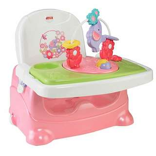 Fisher-Price Pretty in Pink Booster Seat - Elephant