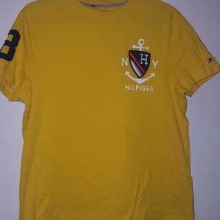 Tomm Hilfiger yellow tee
