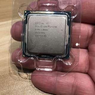 Intel Core i7 - 3770 cpu