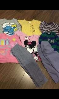 Winter clothings