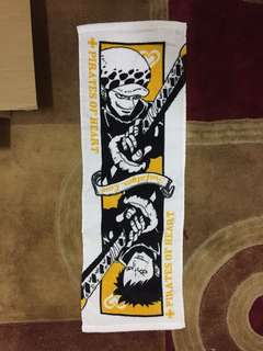 2014 Law One Piece Face Towel Original Banpresto Rare Vintage *only available as prize in store.
