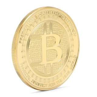 Anonymous Bitcoin Mint - Gold Coin