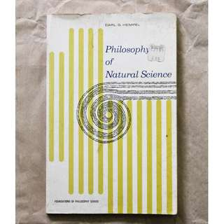 Philosophy of Natural Science by Carl G. Hempel