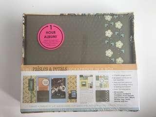 Scrapbook in a box $18