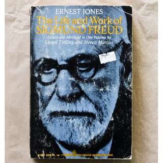 The Life and Work of Sigmund Freud by Ernest Jones