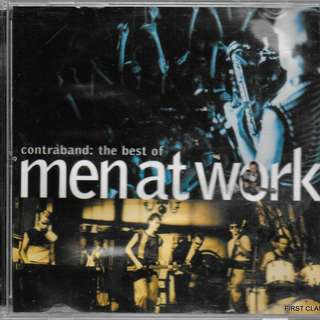 MY PRELOVED CD -- MEN AT WORK - CONTRABAND - /FREE DELIVERY (F7K))