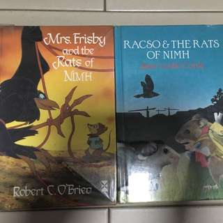 The Rats of Nimh Books / Novels