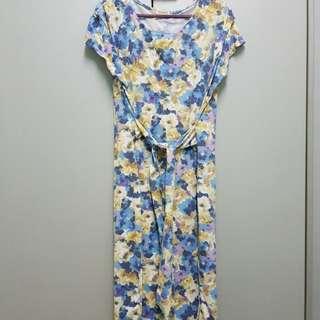 Nursing floral dress