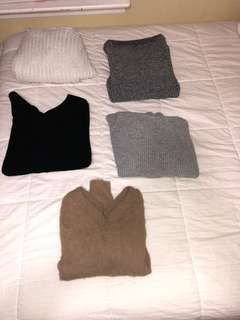 M boutique sweaters
