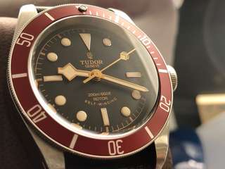 Tudor Black Bay 79220R 紅圈 玫瑰Logo