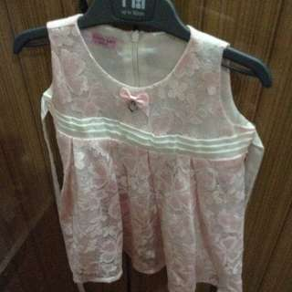 Lovely Lace pink lace dress