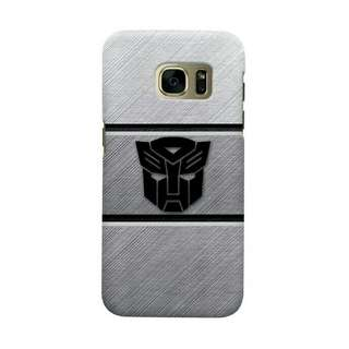 Transformer Black Samsung Galaxy S7 Edge Custom Hard Case