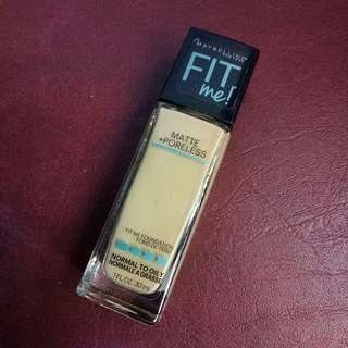 REPRICED!! Maybelline Fit Me! Matte + Poreless Foundation