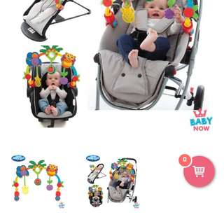 Baby arch toys for stroller n carseat