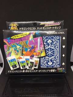 2011 Dragon Quest 25th Anniversary Playing Cards Vintage Rare Original Square Enix *Made in Japan