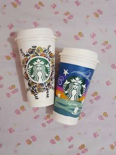 Starbucks reusable cup (2 pcs.)