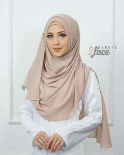 Demure 2 Face Instant Shawl