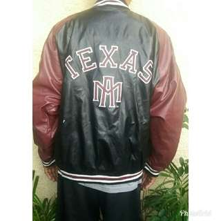 Authentic steve and Barry's leather jacket brandnew