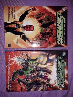 GREEN LANTERN - The Sinestro Corps War Vol. 1 & 2