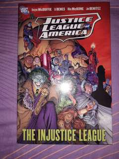 JUSTICE LEAGUE OF AMERICA - The Injustice League