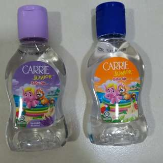 Carrie Junior Baby Oil Combo