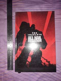 THE TRANSFORMERS - The Complete ALL HAIL MEGATRON