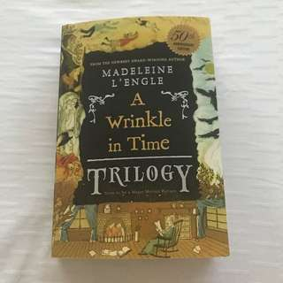 A Wrinkle in Time Trilogy (A Wrinkle in Time, A Wind in the Door & A Swiftly Tilting Planet)