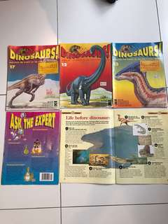Dinosaur Science Magazine fr UK