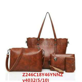 Women bag classic one set