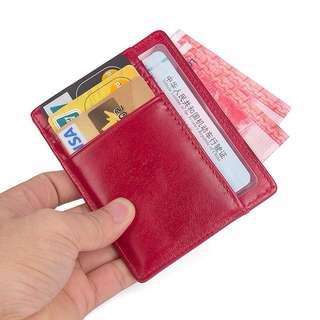 男女款RFID功能零錢包 防掃描卡包
