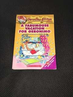 Geronimo Stilton Books-Primary School